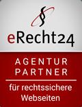 e-recht24 Agentur Partnersiegel