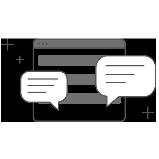 Webseite erstellen lassen Webdesign - Interaktion/Chat Icon